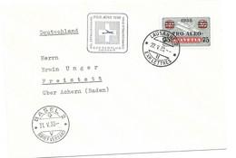 Switzerland Airmail 10 Euros 1938 + First Flight Swissair - Erst- U. Sonderflugbriefe