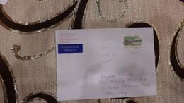 LETTERA POSTA VIA AEREO DA FINLANDIA PER L'ITALIA - Cartas