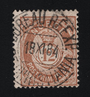 1884 Freimarke Mi NO 39b Sn NO 42 Yt NO 41 AFA NO 41b Nor NO 45II - Used Stamps