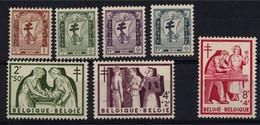 1956 - Nr 998-1004 ** (1.2 Fr Is Bend !) - Nuevos