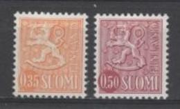 (SA2054) FINLAND, 1974 (Definitives. Coat Of Arms). Complete Set. Mi ## 746-747. MNH** - Nuevos