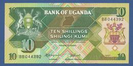 UGANDA - P.28 – 10 SHILLINGS 1987 - UNC - Oeganda