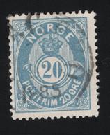 1885 Freimarke Mi NO 41b Yt NO 43 AFA NO 42a Nor NO 46a - Used Stamps