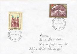 Österreich / Austria - Umschlag Echt Gelaufen / Cover Used (K1559) - 1991-00 Cartas