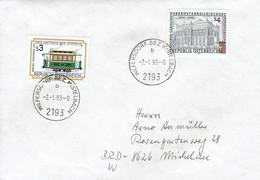 Österreich / Austria - Umschlag Echt Gelaufen / Cover Used (K1560) - 1991-00 Cartas