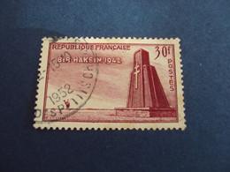 """1950-60 Oblitéré N°   925  """"   Bir Hakeim   """"   """"  Paris Rue Des Petits Champs 1952""""     Net   2 - Usados"""