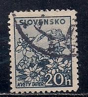 SLOVAQUIE  N°  41  OBLITERE - Usados