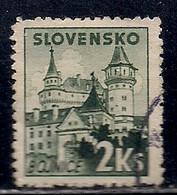SLOVAQUIE  N°  57  OBLITERE - Usados