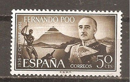 Fernando Poo - Edifil 200 - Yvert 192 (usado) (o) - Fernando Poo