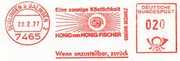 Freistempel Kleiner Ausschnitt 240 Honig Lebensmittel - Machine Stamps (ATM)