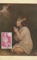 Le Petit Samuel  (timbre 2f + 4f) - Cartoline Maximum