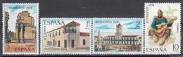 Spain 1974 - Historie Americano-espagnole(Argentine), YT 1868/71, Neufs** - 1971-80 Nuevos & Fijasellos