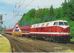 228 742-3 Ex-DR Et Train Spécial à Stolberg (Allemagne) - - Eisenbahnen