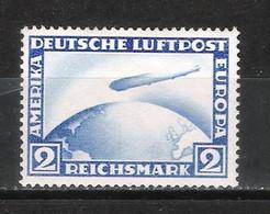 Reich Poste Aérienne N° 36 Neuf Sans Charnière Avec Attestation Grabovsky Au Dos Michel 423Y - Aéreo