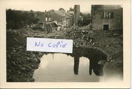 Ardennes. MALANDRY.  Cratère Dans Le Village - 1939-45