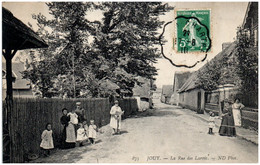 28 JOUY - La Rue Des Larris - Jouy