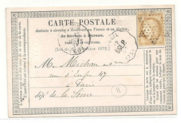 SEINE ET OISE - CONVOYEUR STATION  - Ligne 312. St GERMAIN EN LAYE à PARIS. Station RUEIL. Indice 11 - 1801-1848: Précurseurs XIX