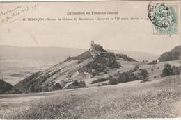 BESANCON (Doubs) MONTFAUCON Ruine Du Château - Besancon
