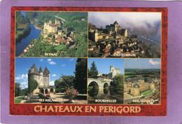 24 CHATEAUX EN PERIGORD Multivues Beynac Castelnaud Les Milandes Bourdeilles Hautefort - Non Classés