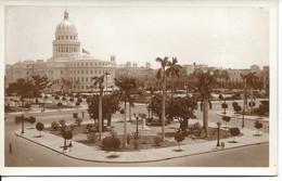 Plaza Fraternidad Y Capitolio, Habana, Cuba, El Partenon Publ. Unused (R213) - Cuba