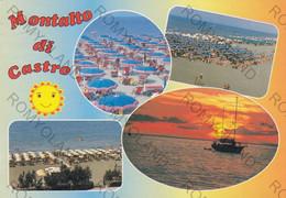 CARTOLINA  MONTALTO DI CASTRO,VITERBO,LAZIO,MARE,SOLE,BELLA ITALIA,IMPERO ROMANO,STORIA,CULTURA,RELIGIONE,VIAGGIATA 1998 - Viterbo