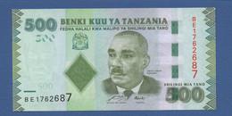 TANZANIA - P.40 – 500 SHILLINGS ND 2010 - UNC Prefix BE - Tanzania