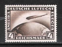 Reich Poste Aérienne N° 37 Neuf Sans Charnière Avec Attestation Grabovsky Au Dos Michel 424Y - Aéreo