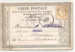 SEINE ET OISE - CONVOYEUR STATION  - Ligne 319 -  VERSAILLES A PARIS. Station BELLEVUE. Indice 9 - 1801-1848: Précurseurs XIX