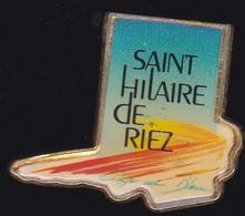69902- Pin's.St Hilaire De Riez En Vendée - Villes