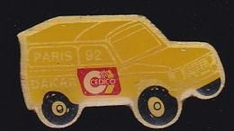 69914- Pin's.4 X 4 Paris Dakar 1992 CEDICO - Rallye