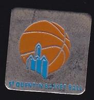 69920- Pin's.Basketball.Saint-Quentin.Aisne.région Hauts-de-France. - Basketball