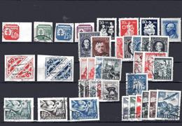 SLOVAKIA, 37 Stamps From 1939-1945 - Usados