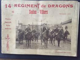 14ème Régiment De Dragons - SEDAN-VILLERS- 24 Pages - Historische Dokumente