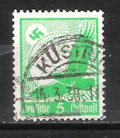 Reich Poste Aérienne N° 43 Oblitéré Gommage Horizontal Michel 529y - Aéreo