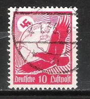Reich Poste Aérienne N° 44 Oblitéré - Aéreo