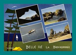 56 Belle Ile En Mer ( Multivues ) 52 - Belle Ile En Mer