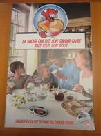 2 Publicité Pages Magazine Fromage La Vache Qui Rit (échange De Lot Possible) - Advertising
