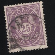 1884 Freimarke Mi NO 42 Sn NO 45 Yt NO 44 Sg NO 88 AFA NO 40  Nor NO 47 - Used Stamps