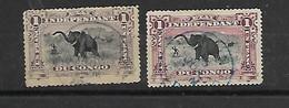 Belgisch Kongo  ETAT INDEPENDANT N° 26    1Fr 2 Kleuren - 1884-1894 Vorläufer & Leopold II.