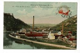 Besançon - Usines Des Prés De Vaux - A Gauche, Les Papeteries (1891-1892) - A Droite, Les Scieries (1892) Circ 1914 - Besancon