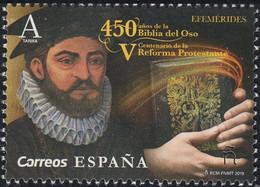 ESPAGNE SPANIEN SPAIN ESPAÑA 2019 450 YEARS BEAR BIBLE BIBLIA DEL OSO MNH ED 5288 YT 5024 MI 5319 - 2011-... Nuevos & Fijasellos