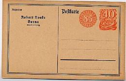 DR PP56/B1 Privat-Postkarte NOSKE BORNA 1922  Kat. 12,00 € - Stamped Stationery