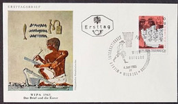 Österreich 1965: WIPA'65 Michel-No. 1184+1186+1188+1189 Sur 4 FDC Avec O WIEN 4.JUNI 1965 (Lot En Dessus De 20g !!) - FDC