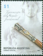 Argentina 2007, Presidential Inauguration, MNH Single Stamp - Neufs