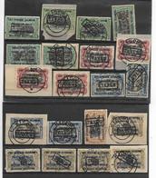 Ruanda-Urundi Assortiment Bezetting TAX - Portomarken: Gebraucht
