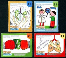 Argentina 2009, Fight Against Tuberculosis, MNH Stamps Set - Neufs