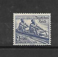 Reich N° 571 Xx Postfris  Roeien - Unclassified