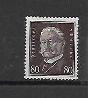 Reich N° 413  Scharnier Cote Yvert 2012 52,50 Euro - Unused Stamps