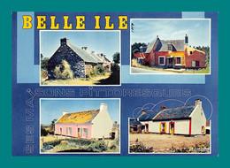 56 Belle Ile En Mer Maisons Pittoresques ( Multivues ) - Belle Ile En Mer