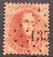 Medaillon 16A Gestempeld LP135 FRAMERIE - 1863-1864 Medallions (13/16)
